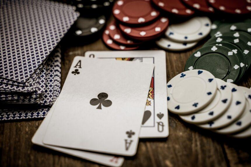 Sztuka z motywem kasyna – przykłady